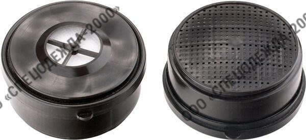 Фильтр марок А1,В1,Е1,К1 к полумаскам АМ-67 (РУ-67)