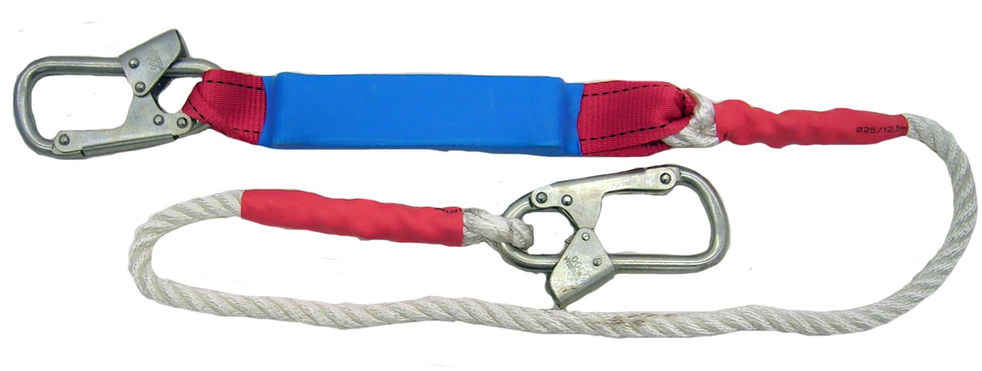 Строп для страховочных привязей с амортизатором из полиамидного каната – аВ